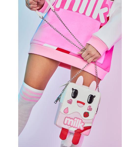 Dolls Kill x tokidoki Tough Cookies Milk Carton Crossbody