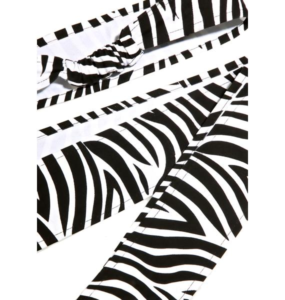 Cheap Monday Zebra Headscarf