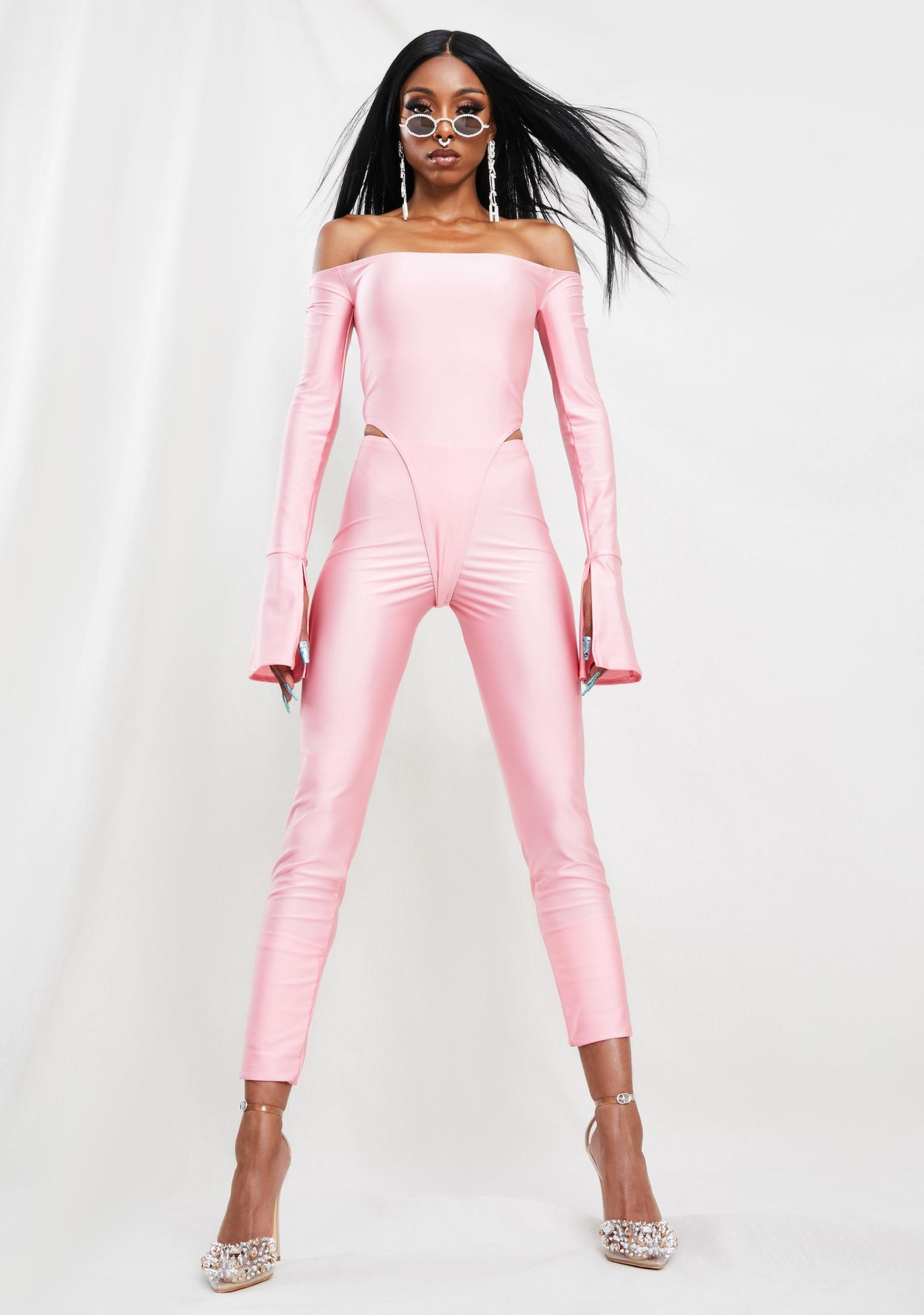 RXCH Pink Kitty Charmer Pant Set