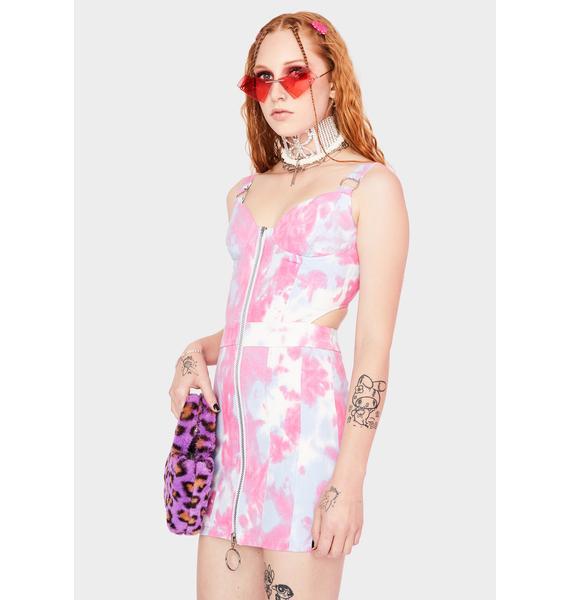 Sweet Skater GF Tie Dye Mini Dress