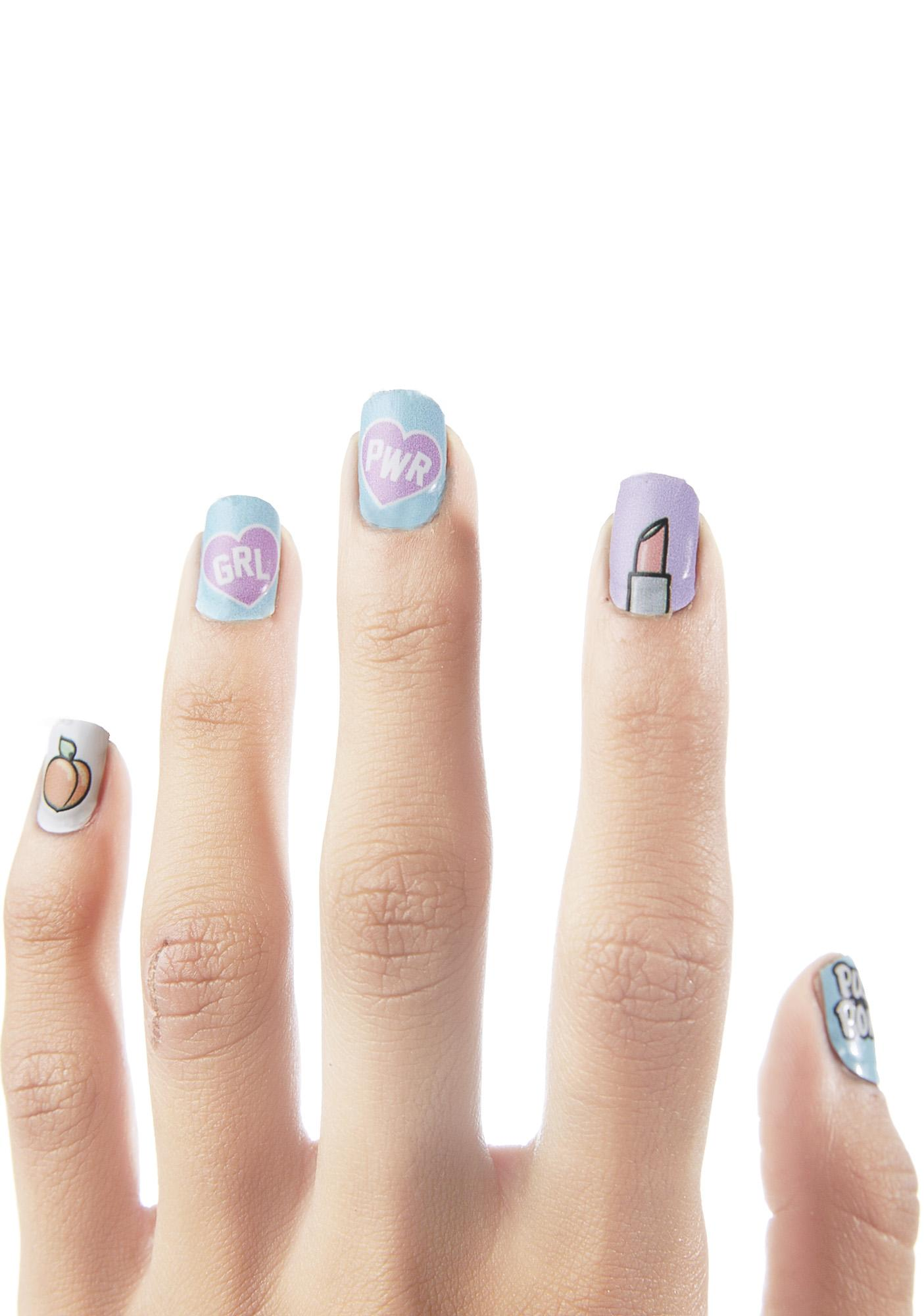 Local Heroes X NCLA Pussy Power Nail Wraps