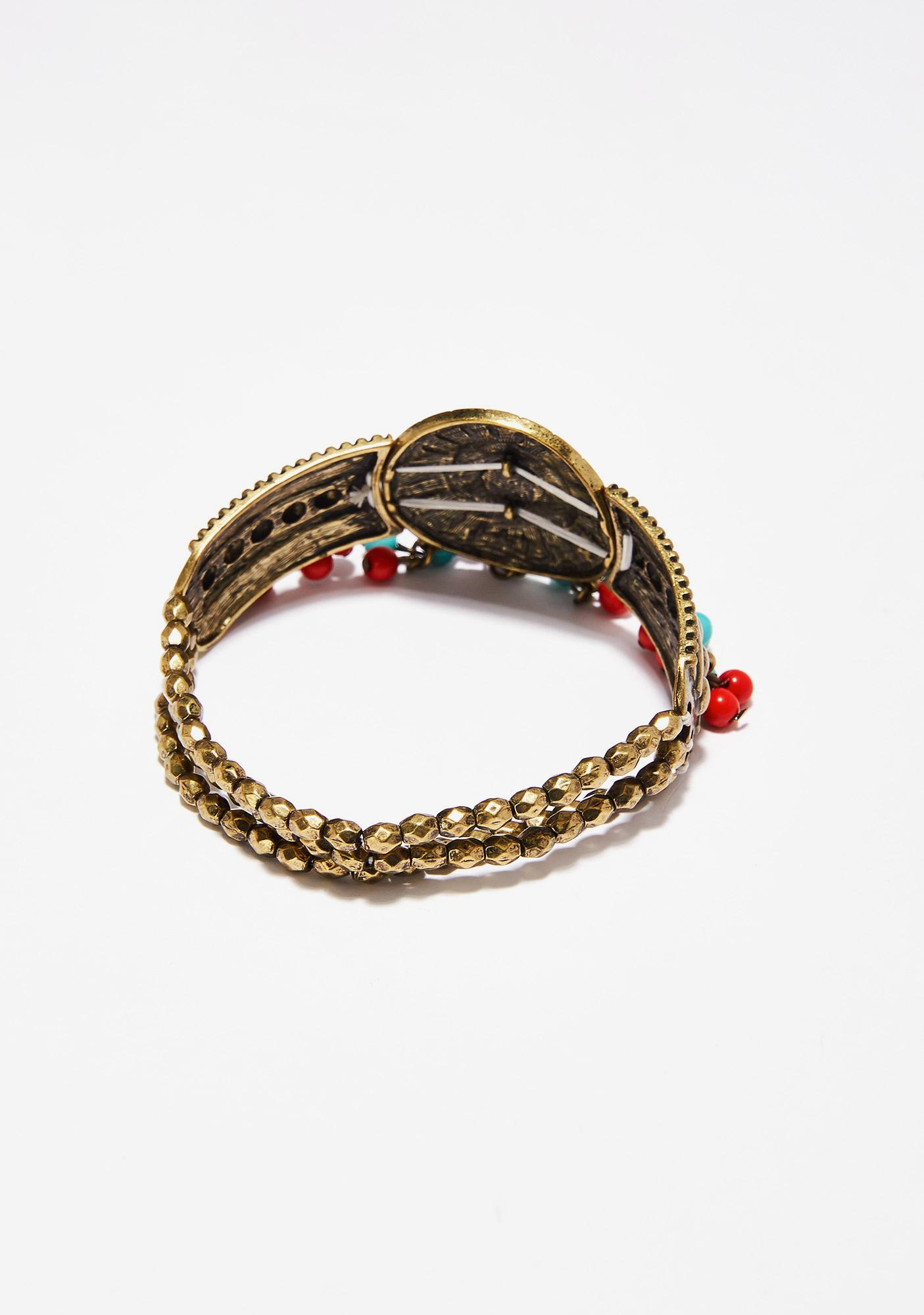 Warrior Princess Beaded Bracelet