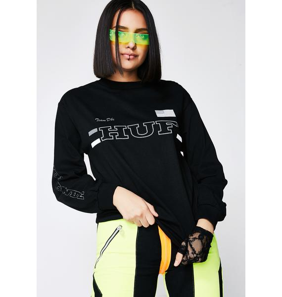 HUF Blackout Team Long Sleeve