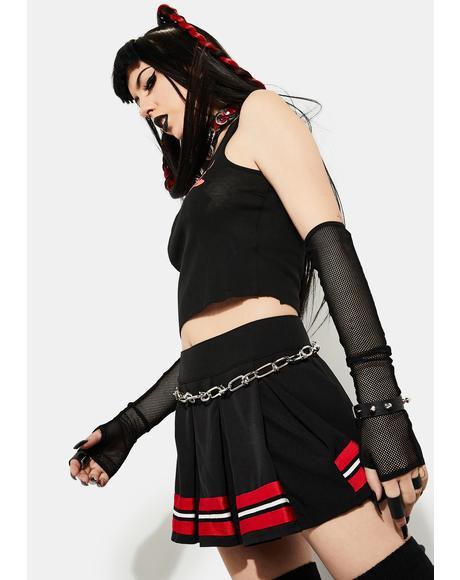 Spirit Squad Pleated Cheer Skirt