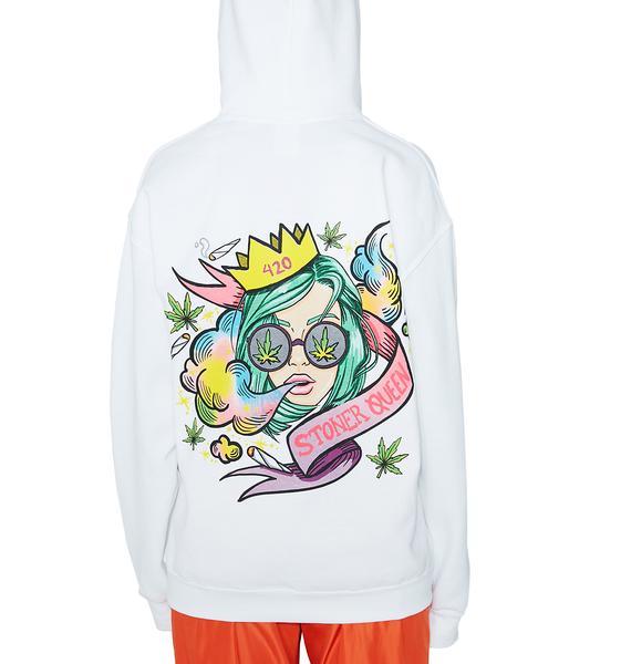 Rad and Refined Stoner Queen Sweatshirt