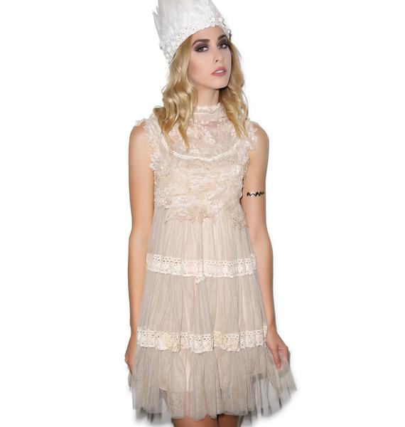 Angelic Dress Beige