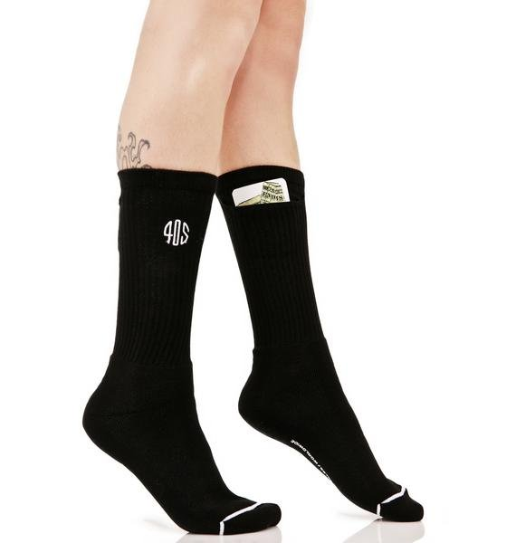 40s & Shorties Standard Stash Pocket Socks Pack