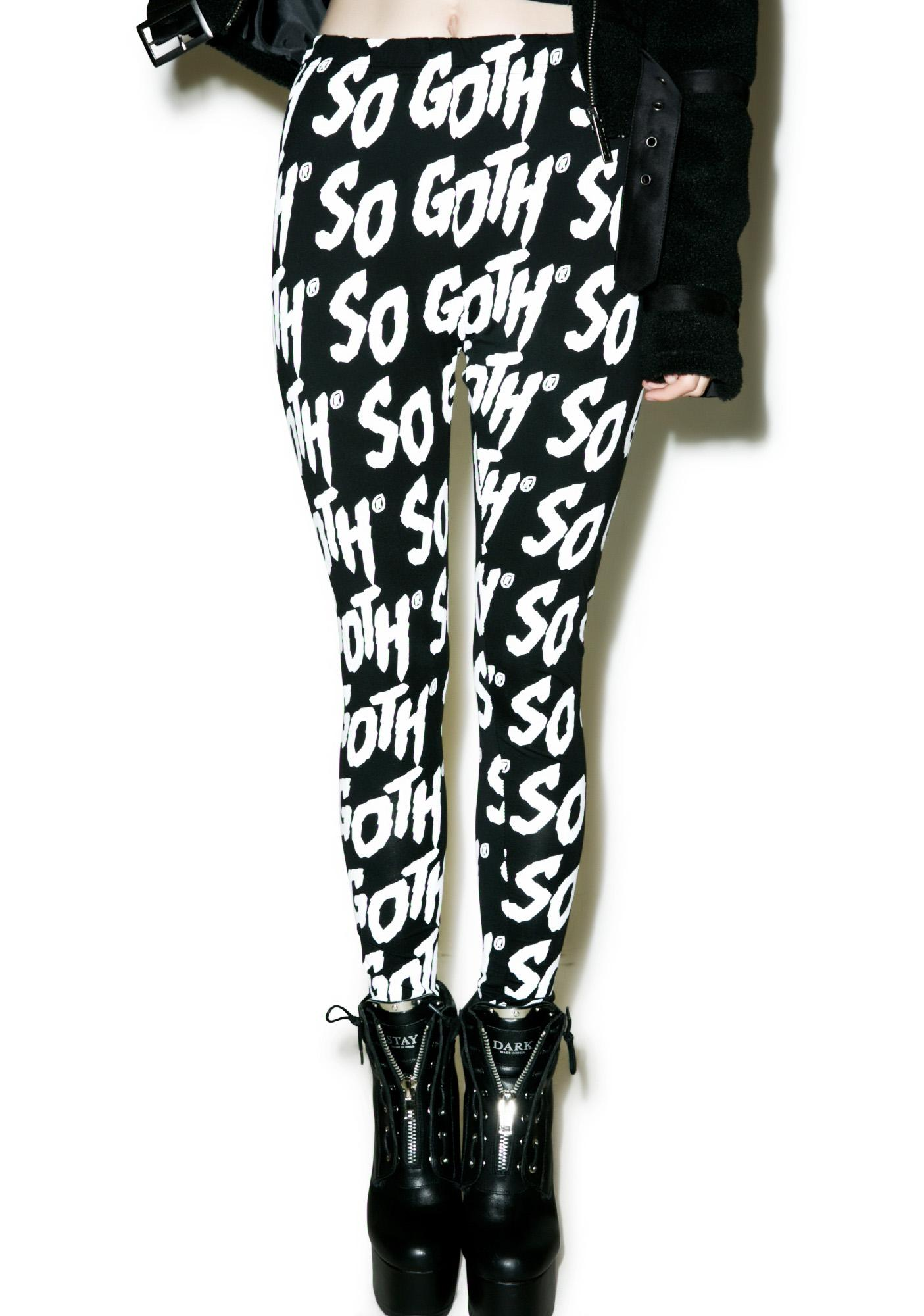 Killstar So Goth Leggings