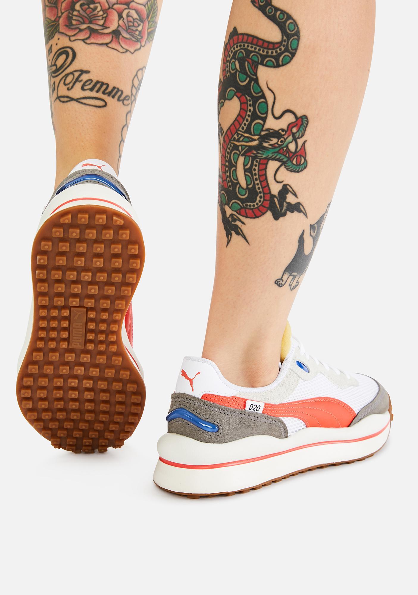 PUMA Style Rider Stream On Sneakers