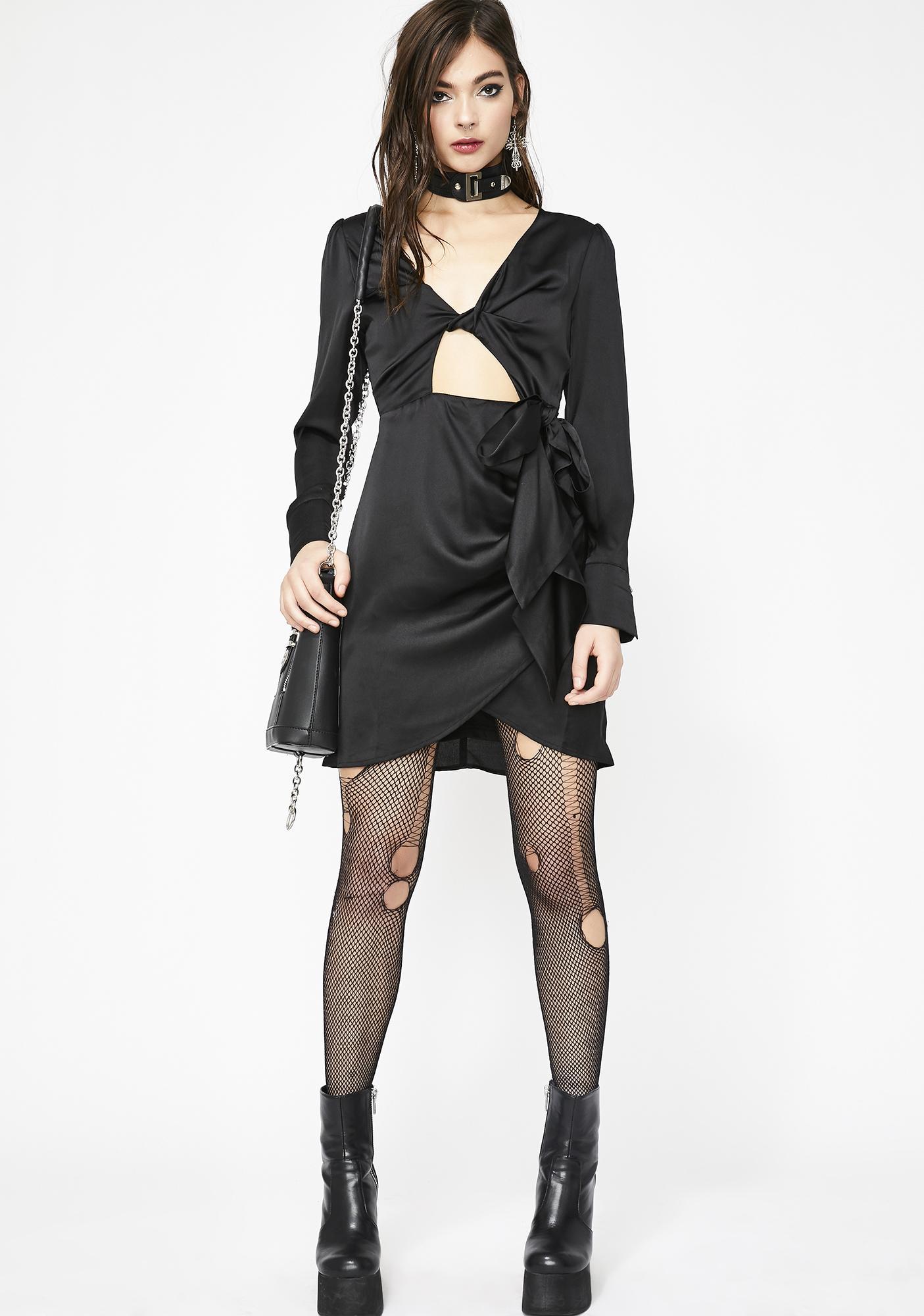 Darkstar Tie Waist Dress