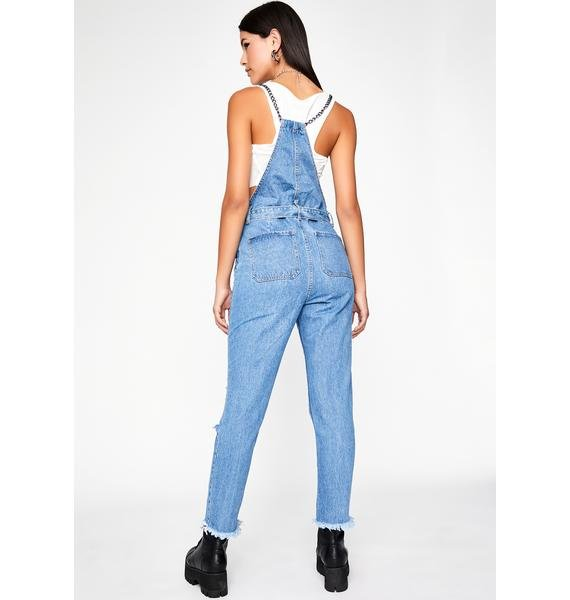 Rough Ridin' Denim Overalls