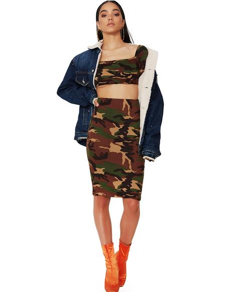 Locked N' Loaded Bodycon Set