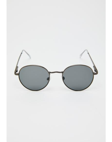 Totally Agreed Round Sunglasses