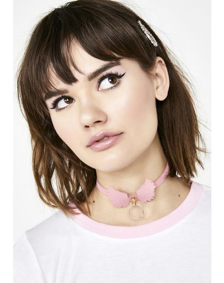 Meant To Fly Wings Choker