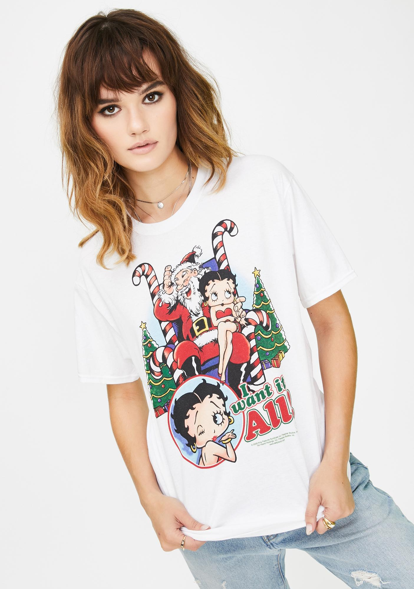 Trevco I Want It All Graphic Tee