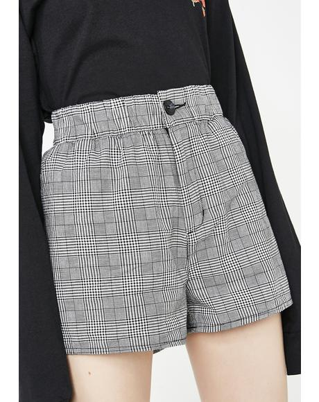 Ur A Plaid Girl Shorts