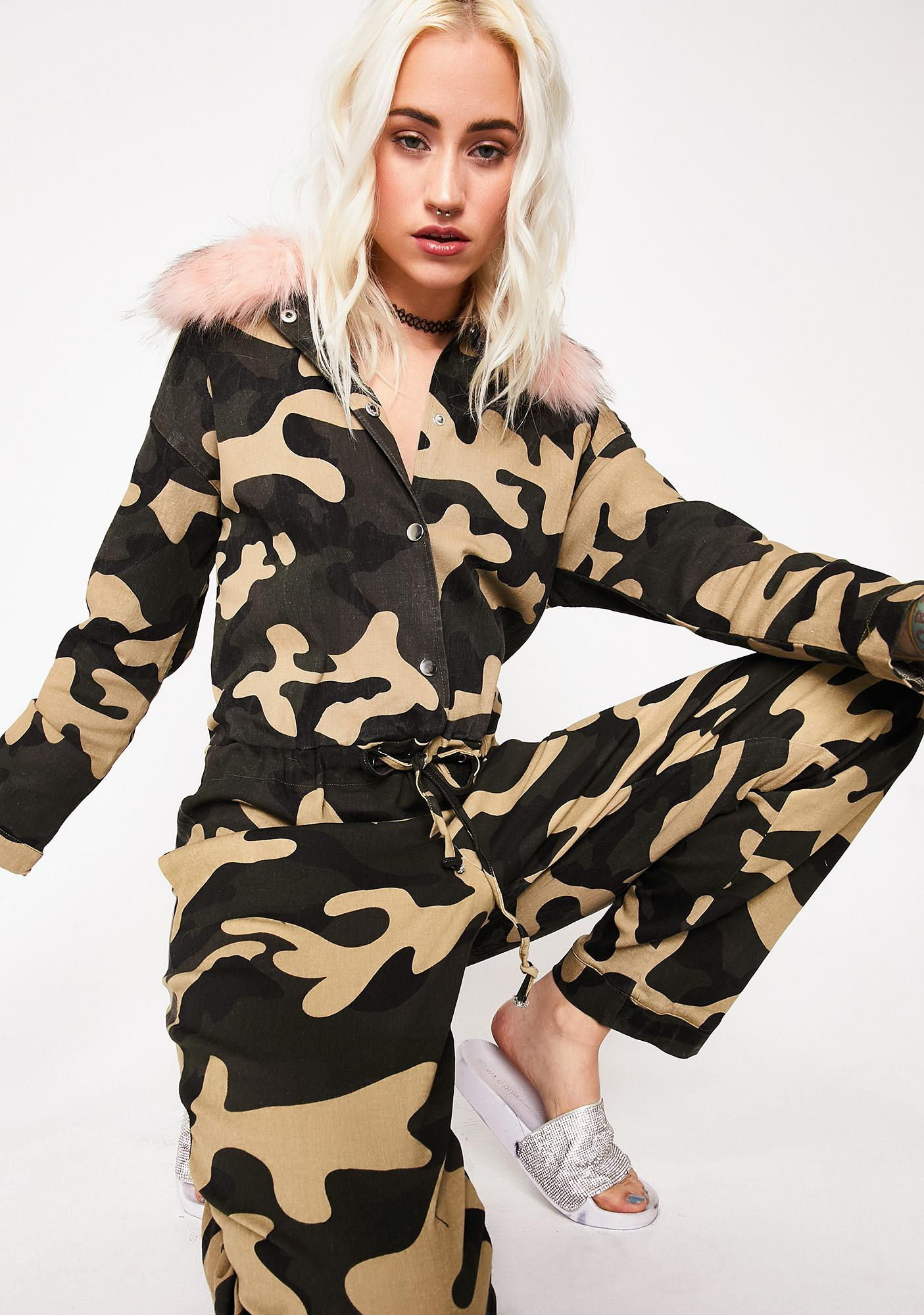 Gone Hunting Camo Jumpsuit