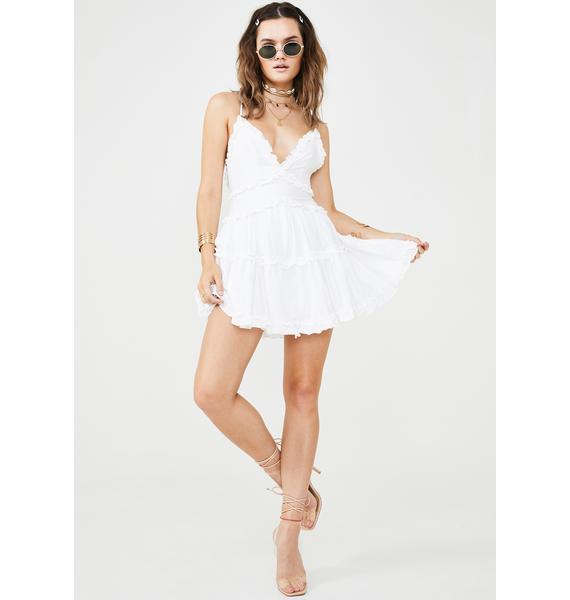Ruffle Me Up Mini Dress