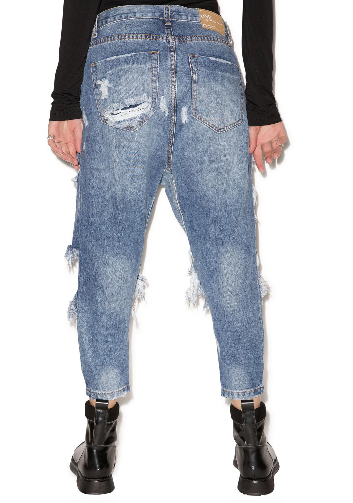 One Teaspoon King Pins Jeans