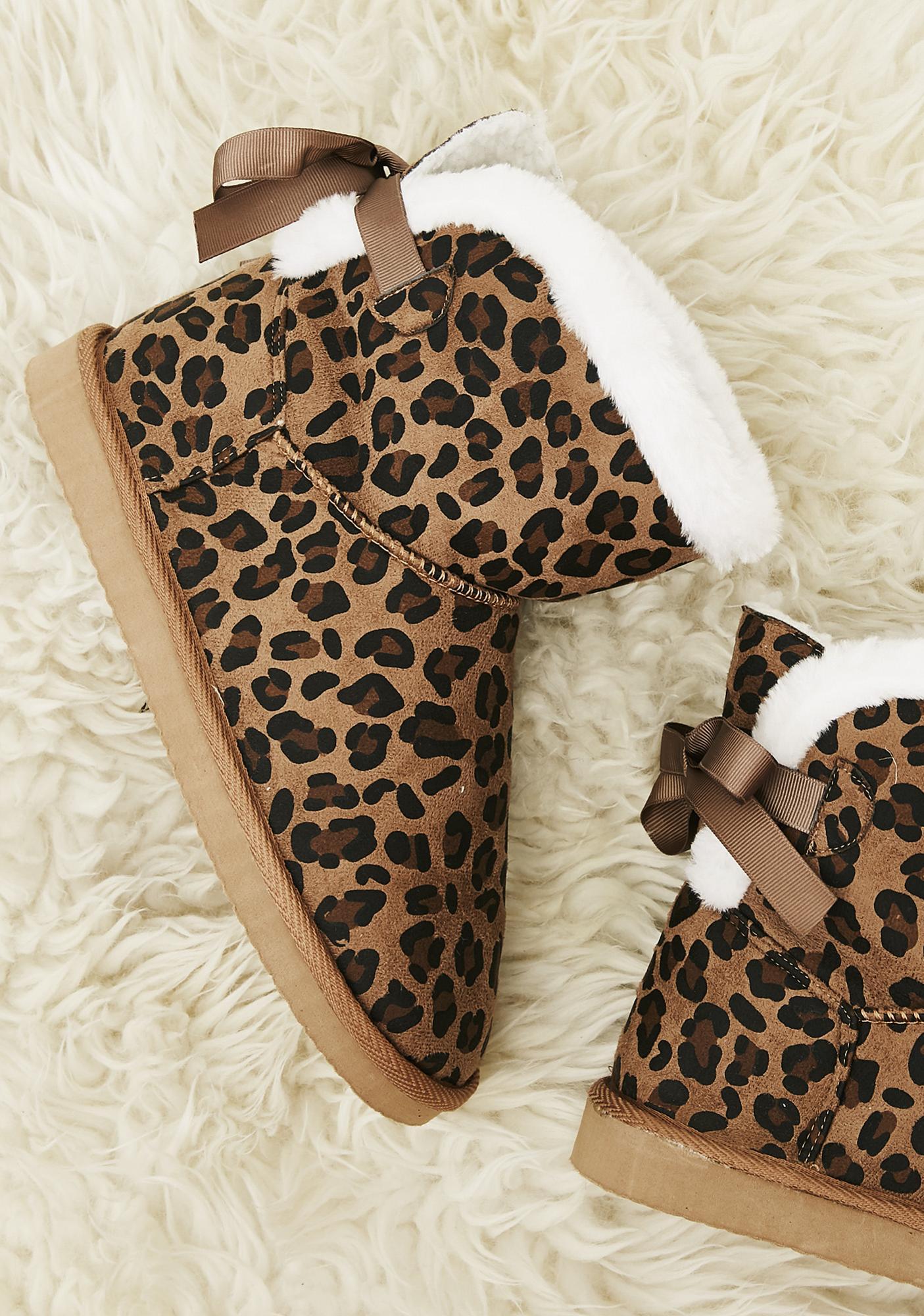 Wild Spots Slipper Boots
