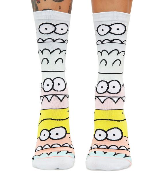 Stance x Kevin Lyons Monster Mash Socks