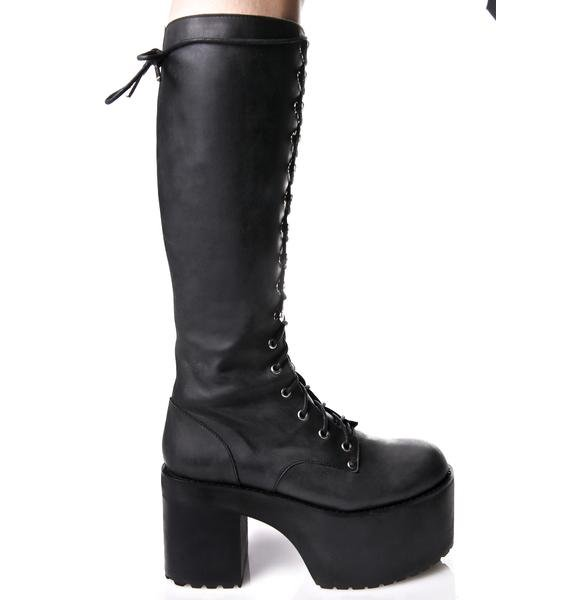 Current Mood Your Highness Leather Boots
