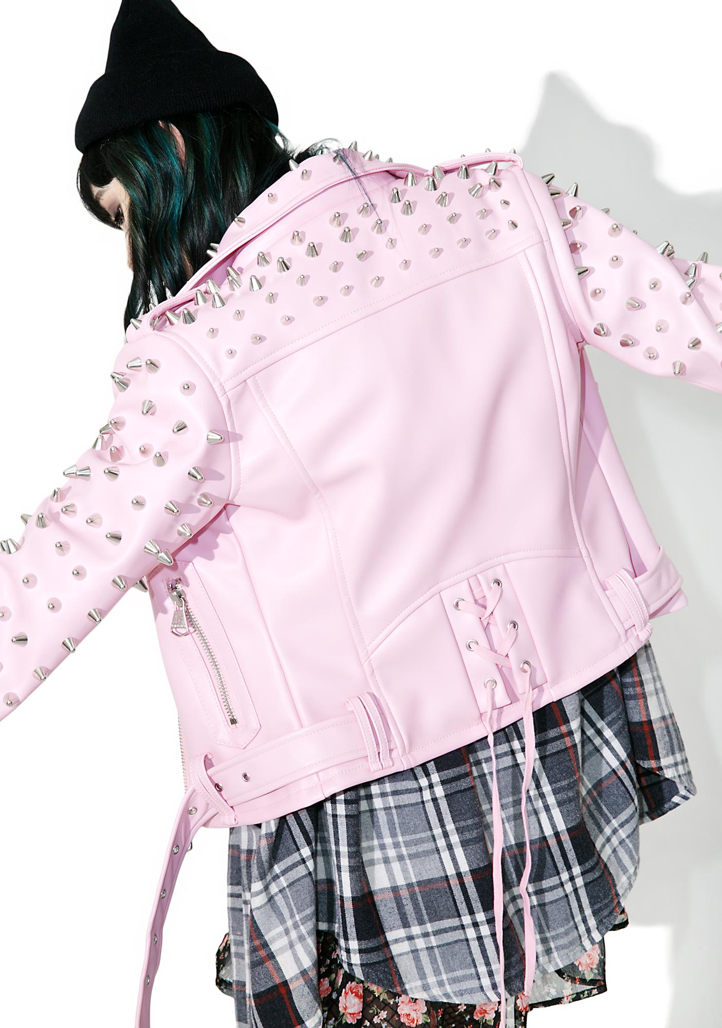 Killstar Dahlia Studded Biker Jacket