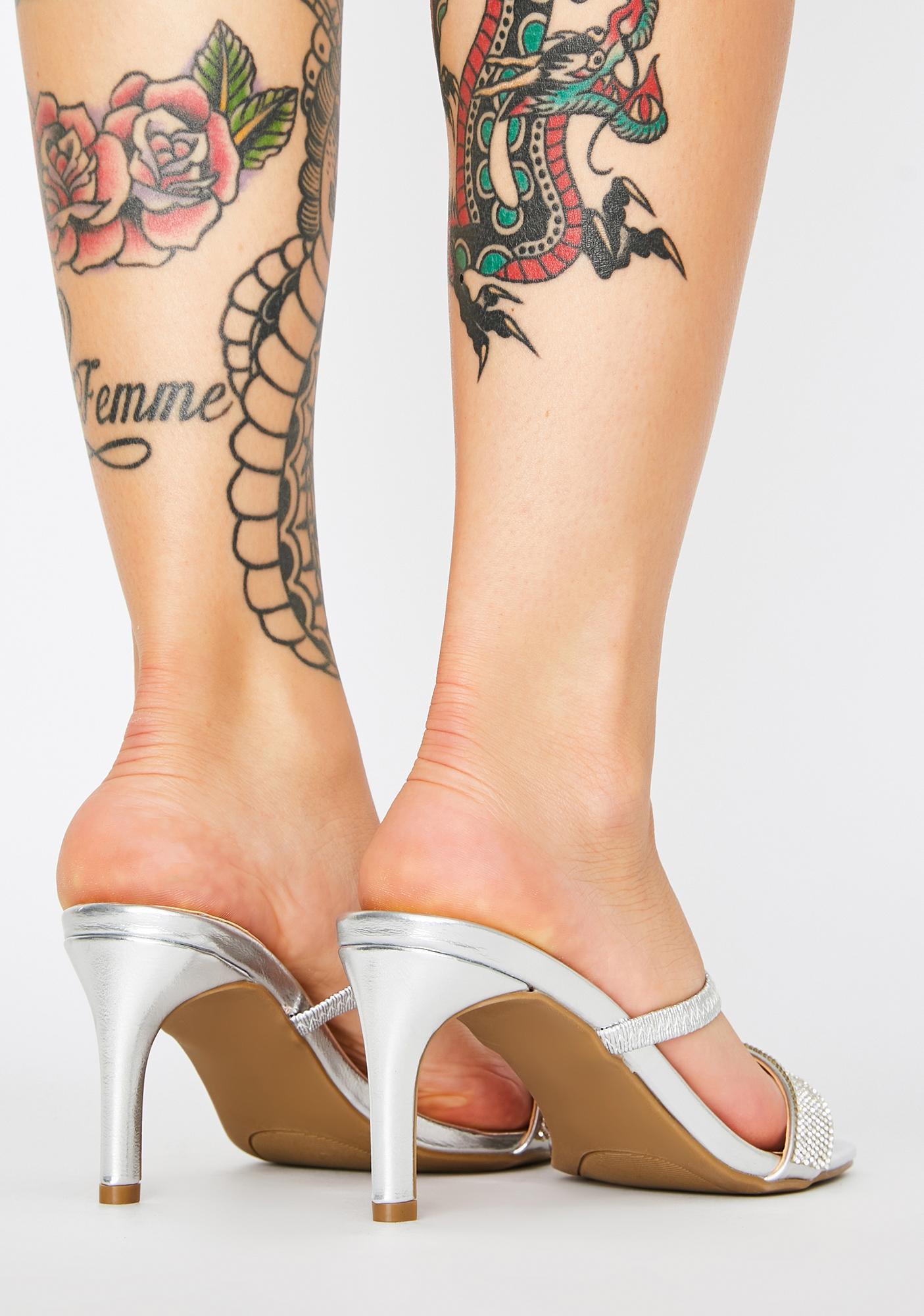 Some Like It Hot Rhinestone Heels
