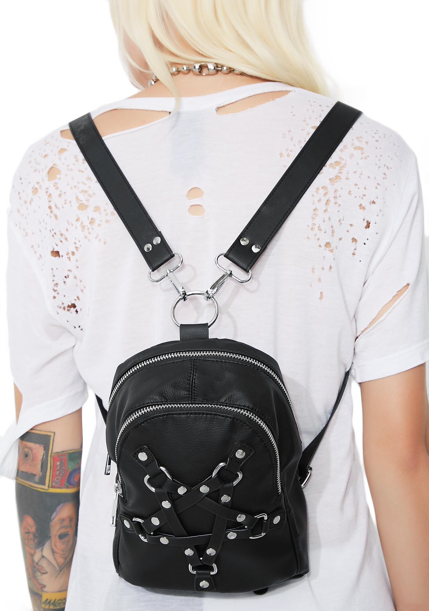 Current Mood With My Witches Pentagram Mini Backpack