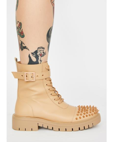 Desert Bite Back Studded Boots