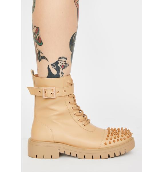 Desert Bite Back Studded Boots