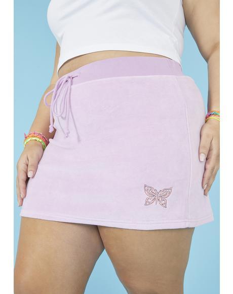 Gotta Catch Wind Mini Skirt