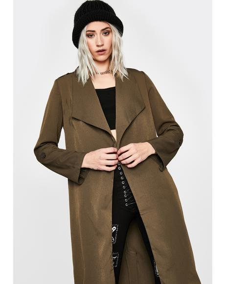 Reformed Rebel Trench Coat