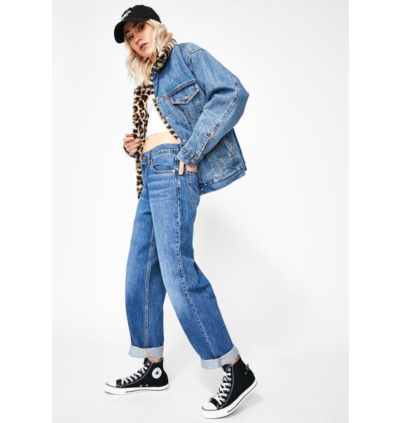 Levis Joe Cool Dad Jeans