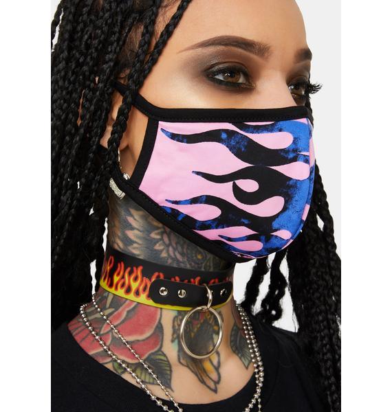 Cobalt Light It Up Face Mask