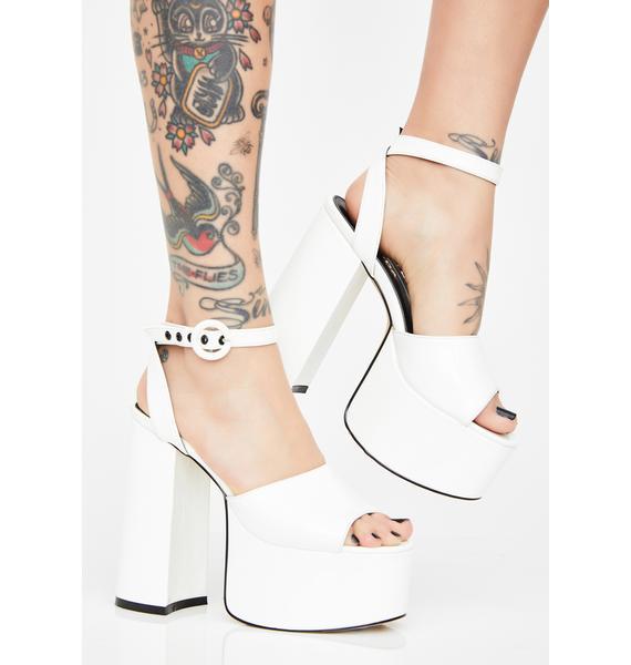 Lamoda Pure Chick Flick Patent Heels