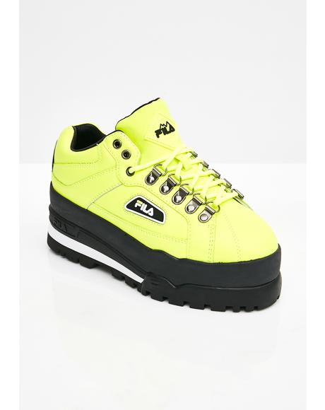 Biohazard Trailblazer Wedge Sneakers