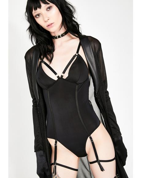 Power Play Garter Bodysuit