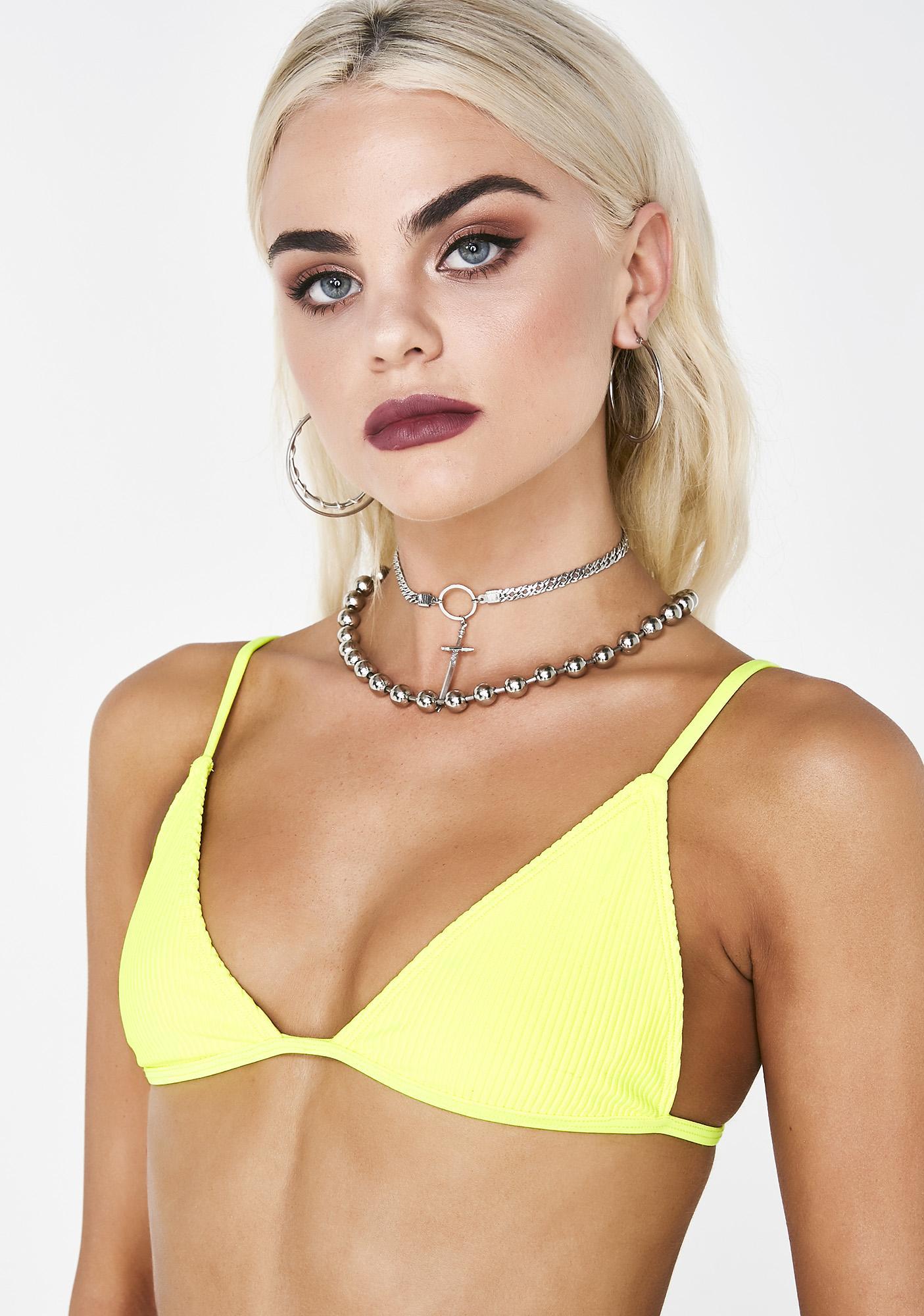 c37d2f17fc54c Frankies Bikinis Chase Bikini Top | Dolls Kill