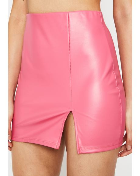 Candy Play It Cool Mini Skirt