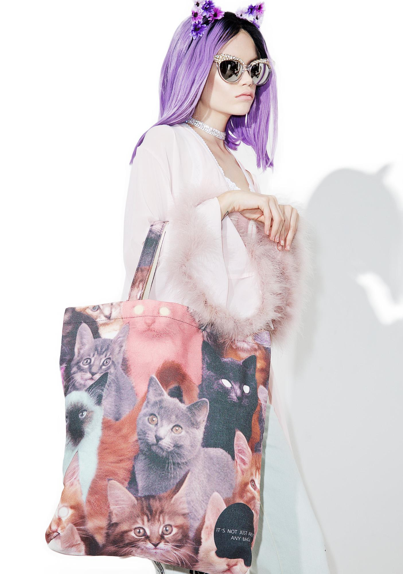 Cats Out Tote Bag