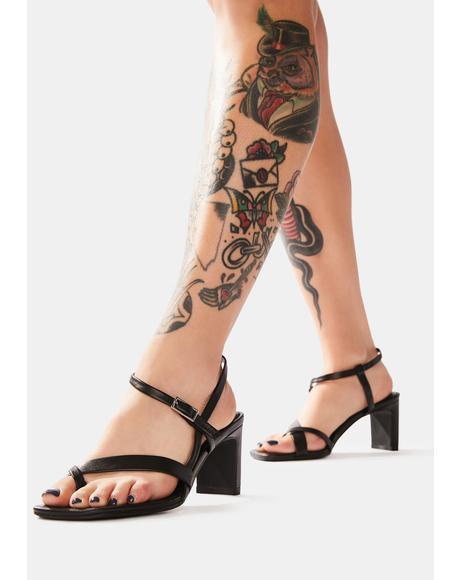 Luisa Leather Heels