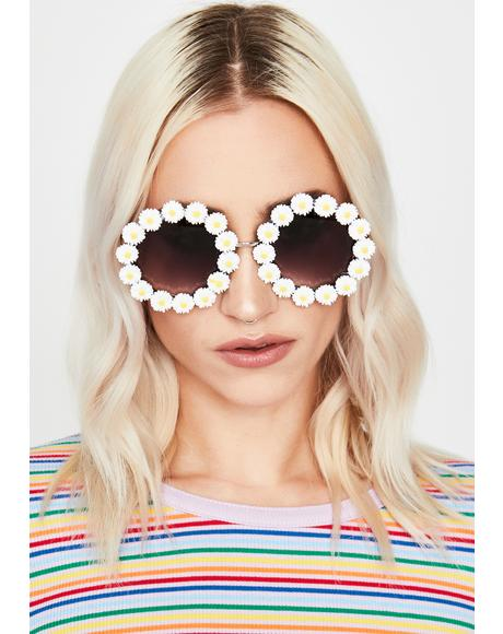 Petal Pusher Circle Sunglasses