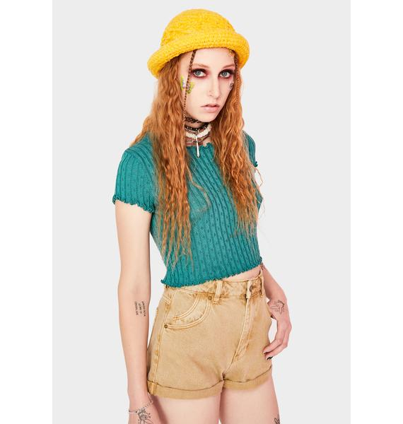 Rollas Harvest Brown Duster Shorts