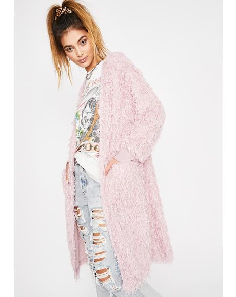 Sweet Dream Fuzzy Cardigan
