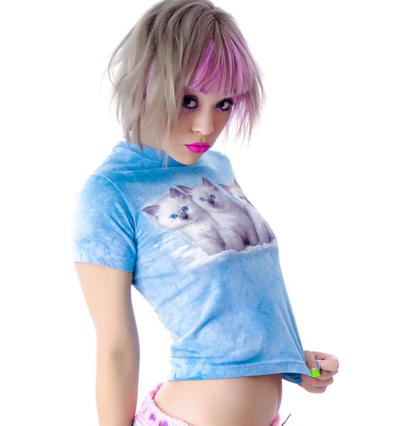 Cloudy Kittens Baby Tee