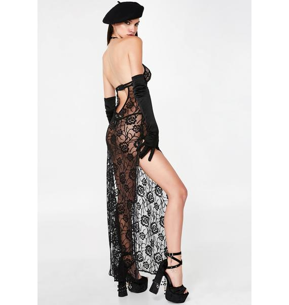 Dead Of Night Sheer Nightgown