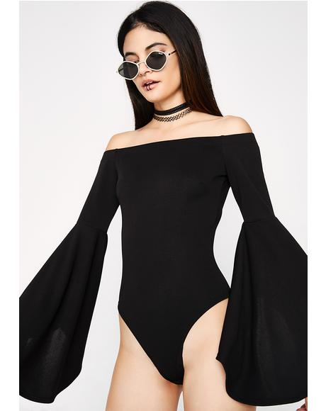 Vindicated Bell Sleeve Bodysuit