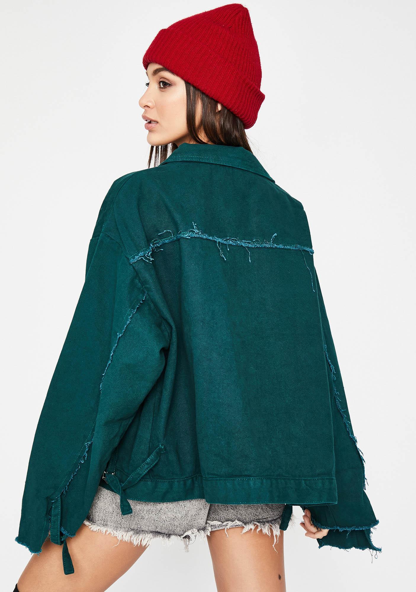 On A Roll Denim Jacket