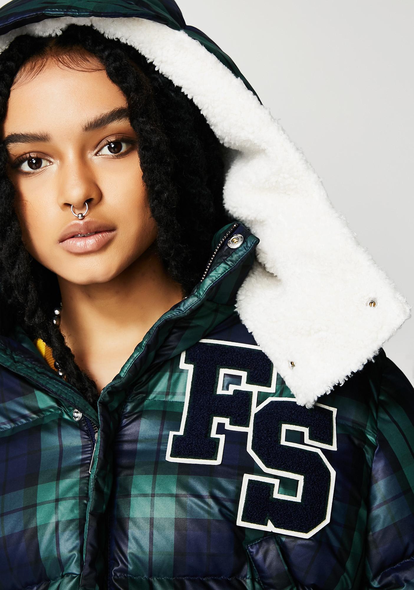 PUMA FENTY PUMA By Rihanna Cropped Hooded Puffer Jacket